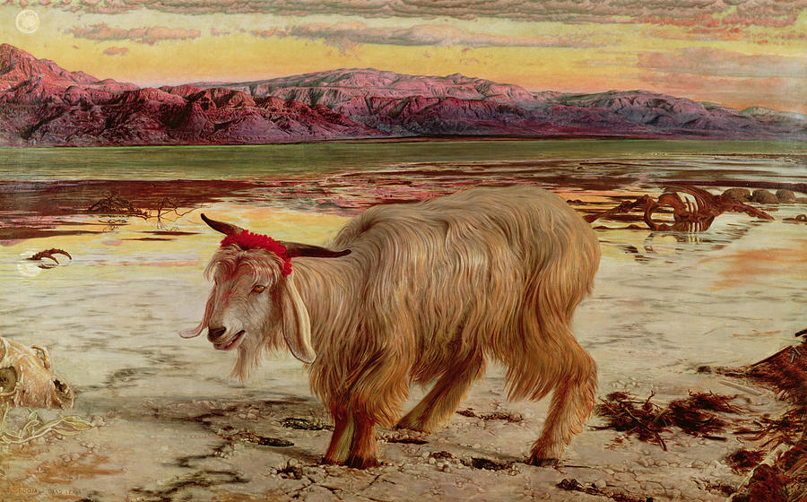 The Scapegoat Painting
