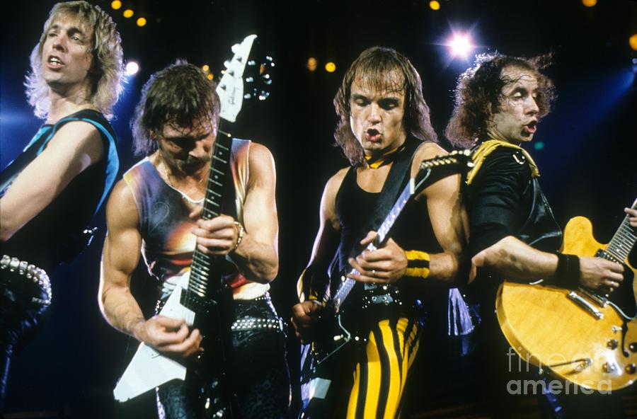 The Scorpions Photograph