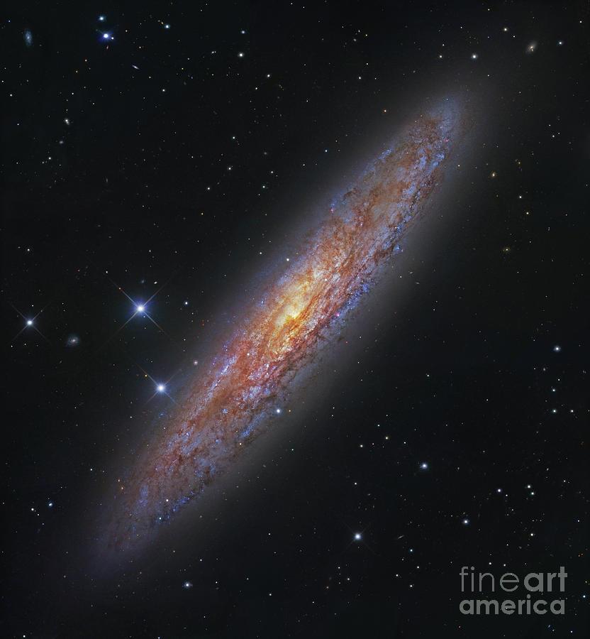 The Sculptor Galaxy, Ngc 253 Photograph