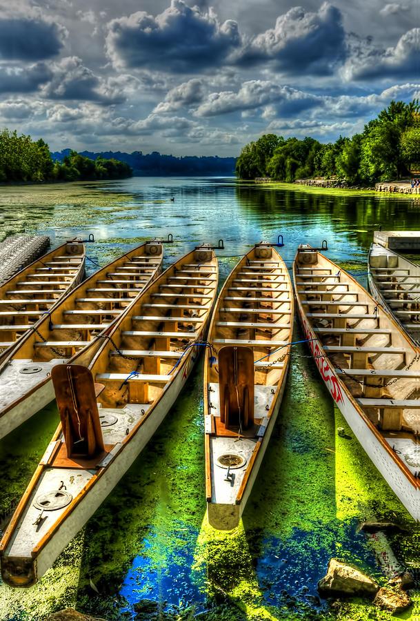 Lake Photograph - The Sea Awaits by Sarah Hauck