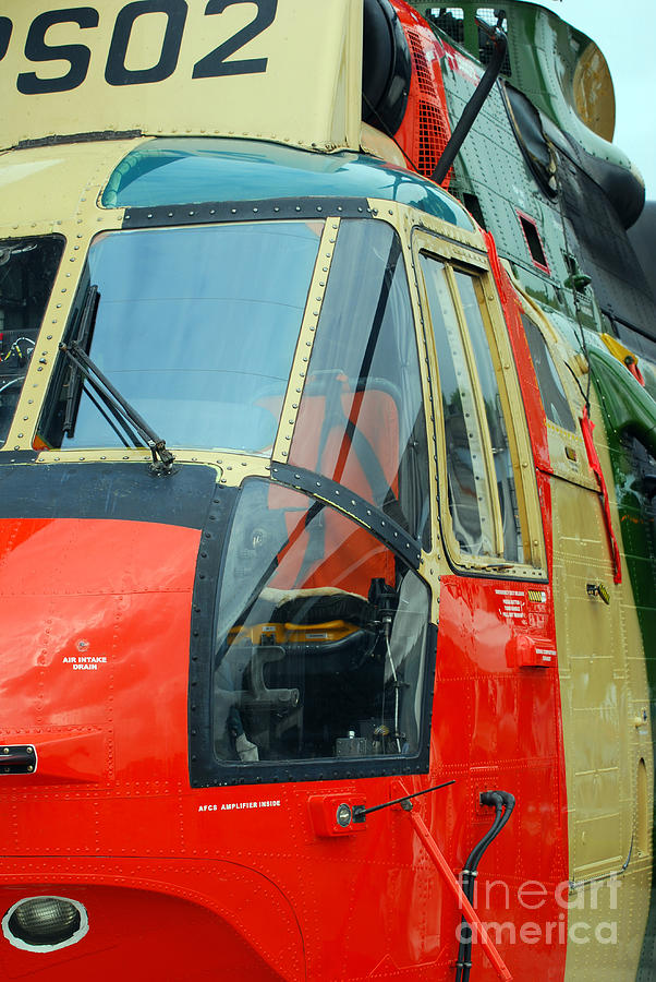 The Sea King Helicopter Used Photograph