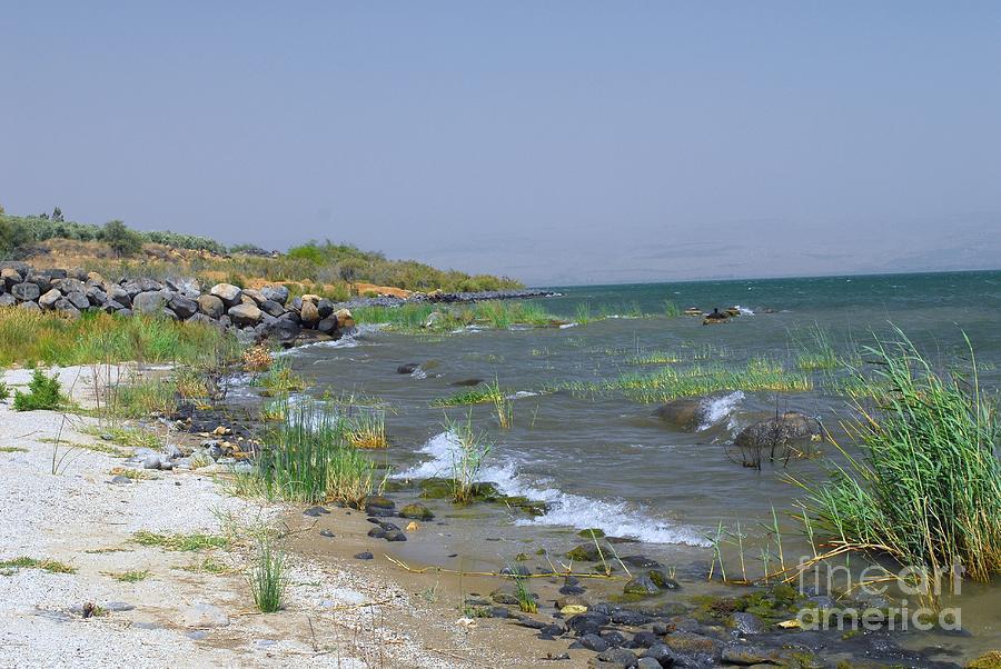 The Sea Of Galilee Digital Art