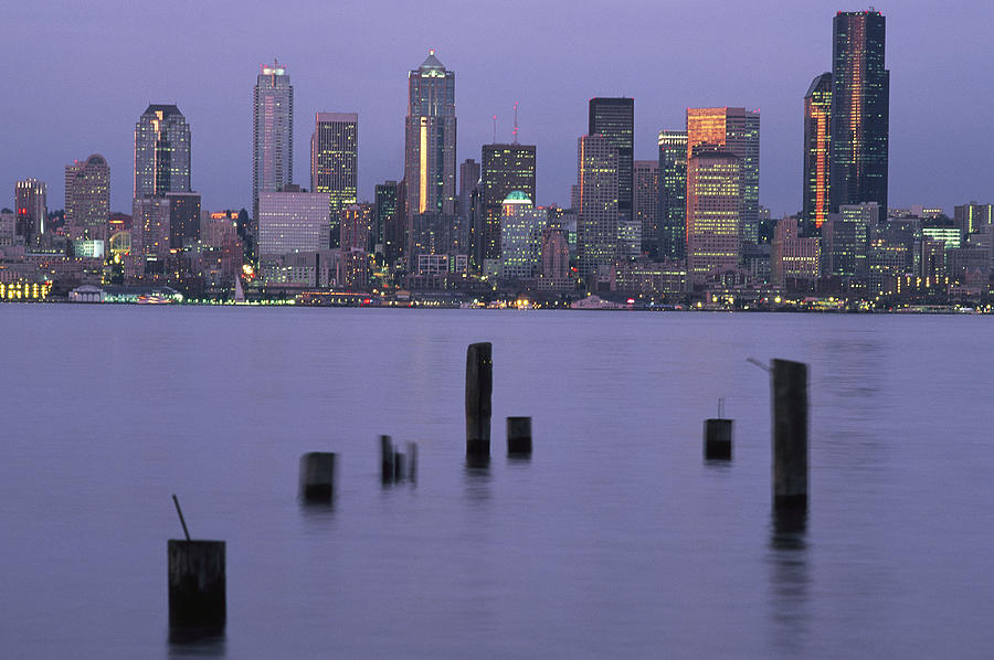 The Seattle Skyline Photograph