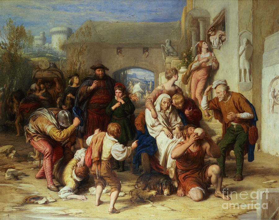 The Seven Ages Of Man Painting