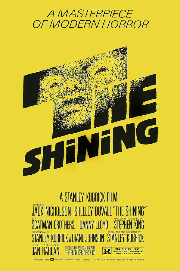 1980 Movies Photograph - The Shining, Poster Art, 1980 by Everett