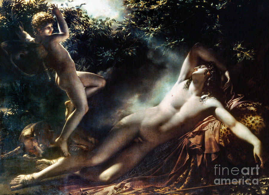 The Sleep Of Endymion Painting  - The Sleep Of Endymion Fine Art Print