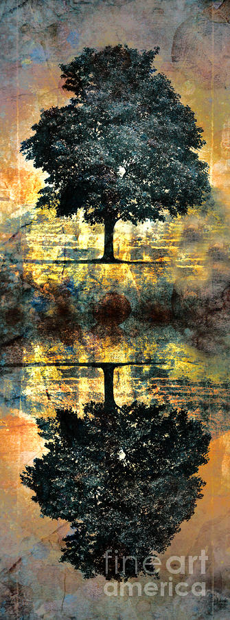 The Small Dreams Of Trees Digital Art  - The Small Dreams Of Trees Fine Art Print
