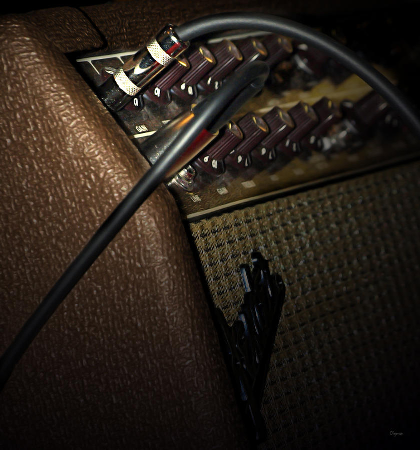 The Sound Of Vintage Tweed  Photograph