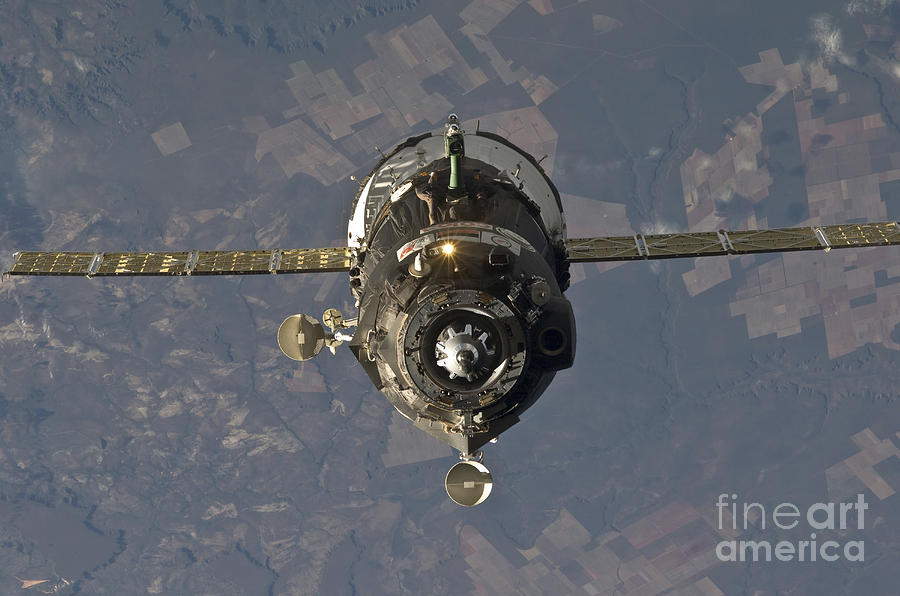 The Soyuz Tma-19 Spacecraft Photograph