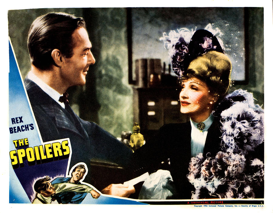 The Spoilers, From Left Randolph Scott Photograph