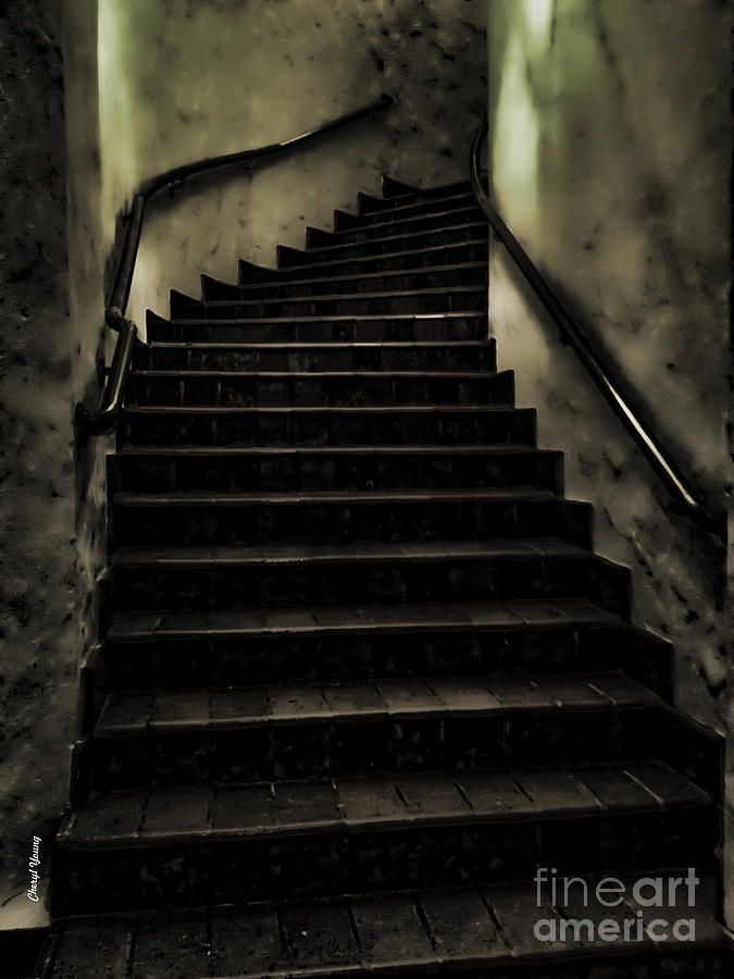 The Stairwell Photograph  - The Stairwell Fine Art Print