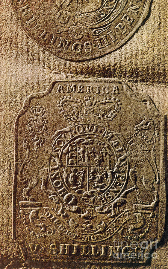 The stamp act by photo researchers