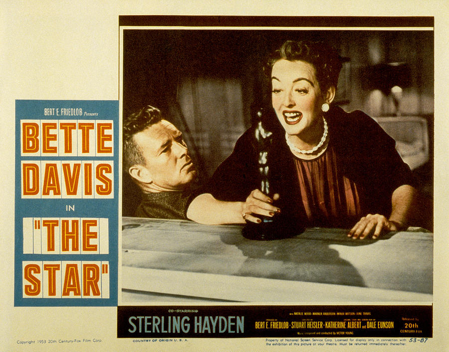 The Star, Sterling Hayden, Bette Davis Photograph