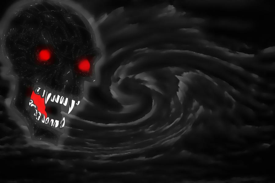 The Storm God Digital Art