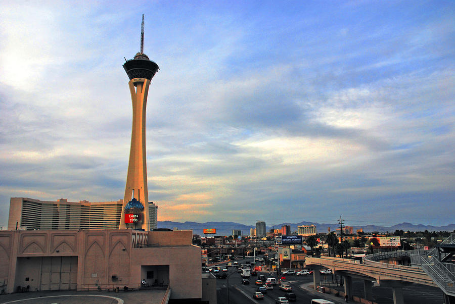 The Stratosphere In Las Vegas Photograph
