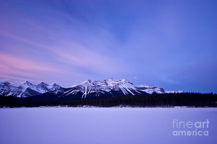 The Sun Rises Over Mount Temple Photograph  - The Sun Rises Over Mount Temple Fine Art Print