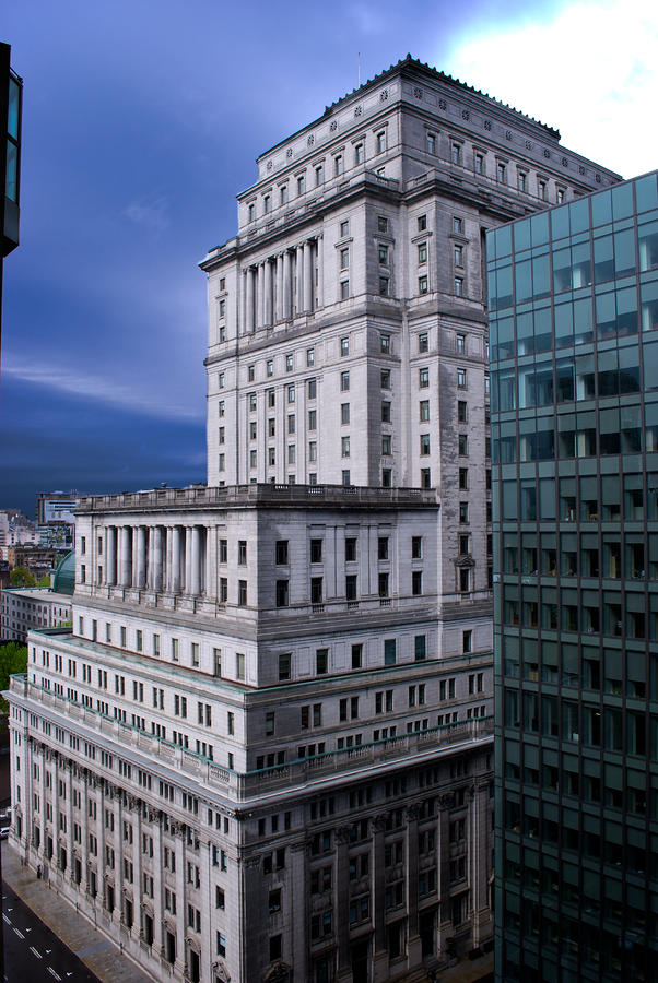 The Sunlife Building In Montreal Photograph  - The Sunlife Building In Montreal Fine Art Print
