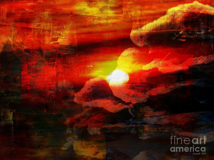 The Sunny Side Of Life Mixed Media  - The Sunny Side Of Life Fine Art Print