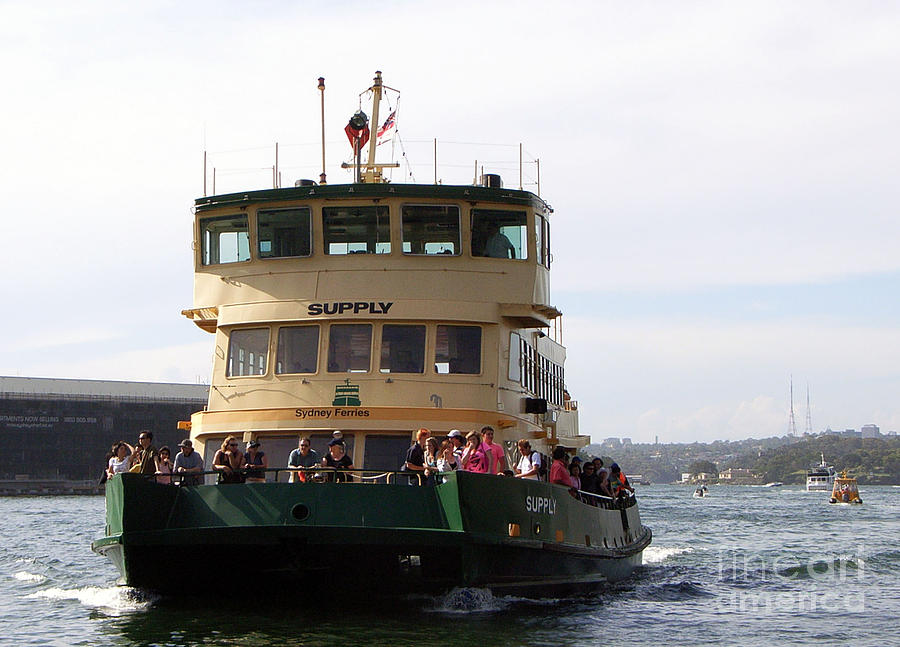 The Sydney Harbour Ferry Supply Photograph