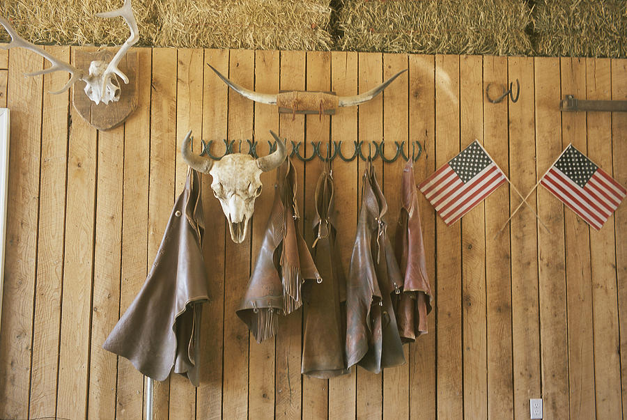 The Tack Room At Saddleback Ranch Photograph