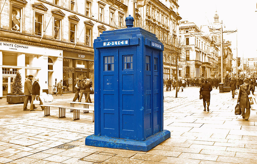 The Tardis Photograph  - The Tardis Fine Art Print
