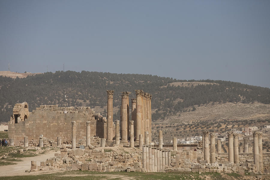The Temple Of Artemis In The Ruins Photograph
