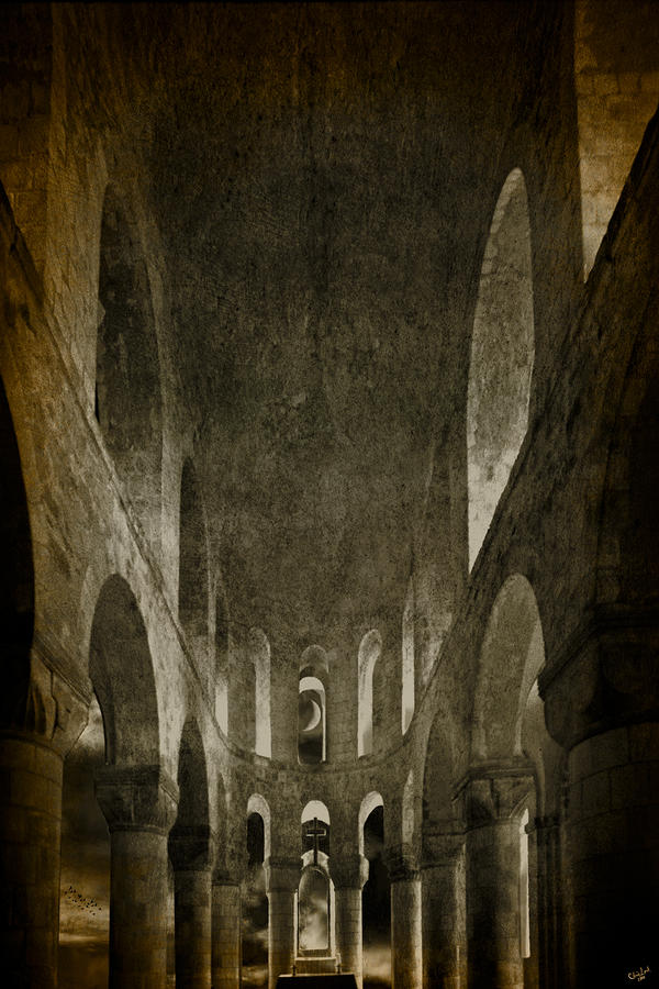 The Temple Of The Knights Of Earendel Photograph