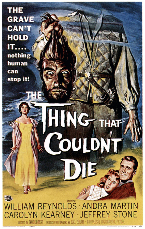 1950s Poster Art Photograph - The Thing That Couldnt Die, 1958 by Everett