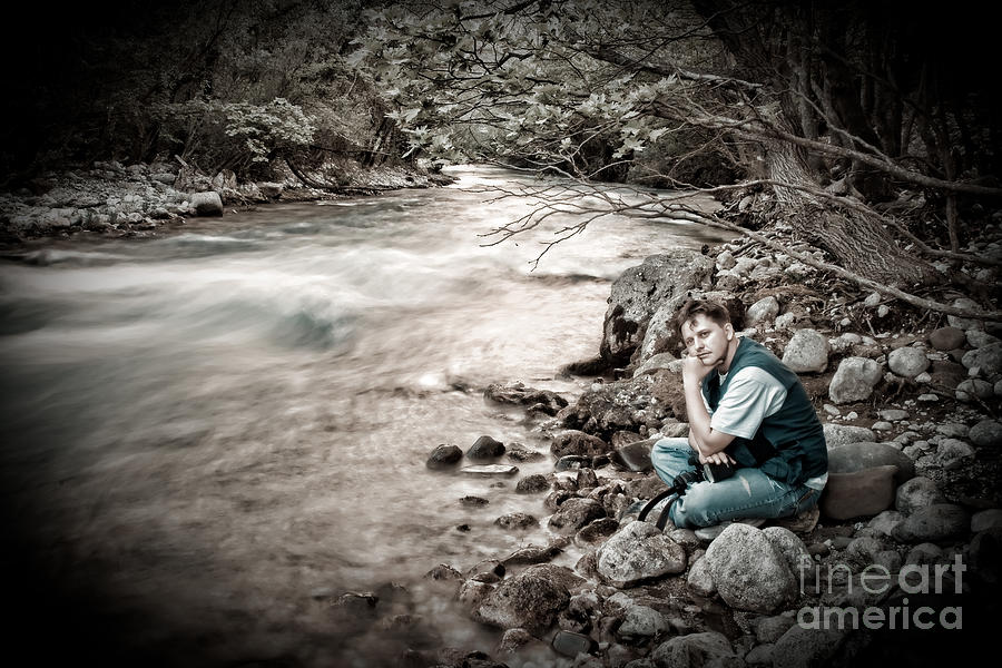 The Thinker Photograph