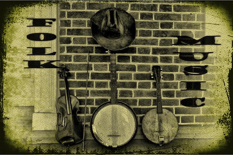 The Three Amigos - Folk Music Photograph