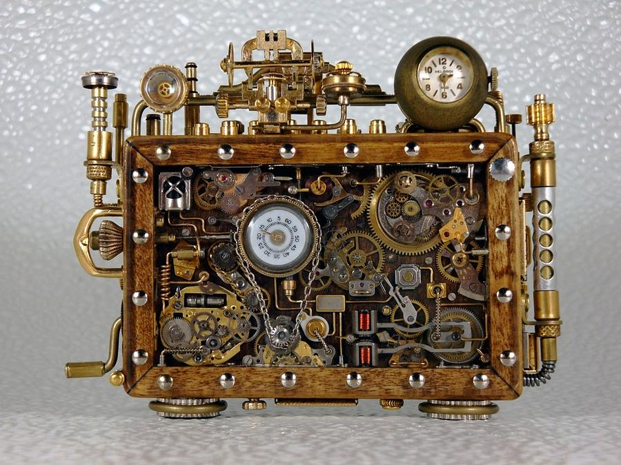 The Time Machine Sculpture By Dmitriy Khristenko