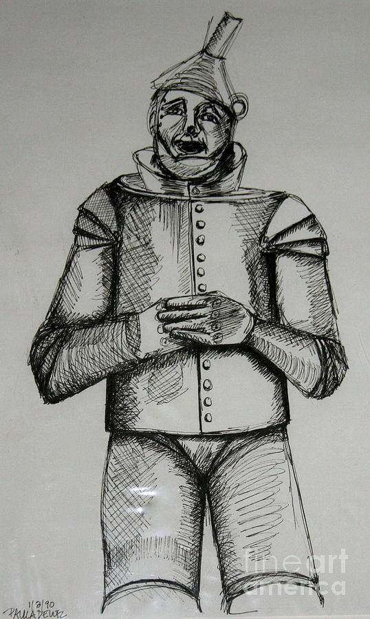 The Tin Man Drawing