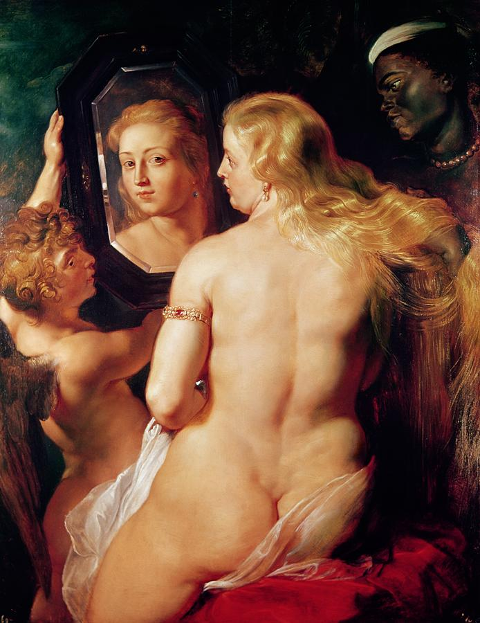 The Toilet Of Venus Painting  - The Toilet Of Venus Fine Art Print