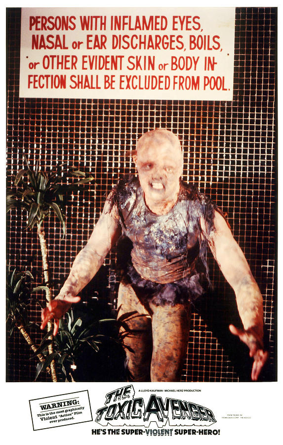 The Toxic Avenger, Mitch Cohen, 1985 Photograph  - The Toxic Avenger, Mitch Cohen, 1985 Fine Art Print