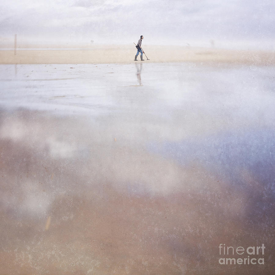 The Treasure Hunter Photograph - The Treasure Hunter by Paul Grand