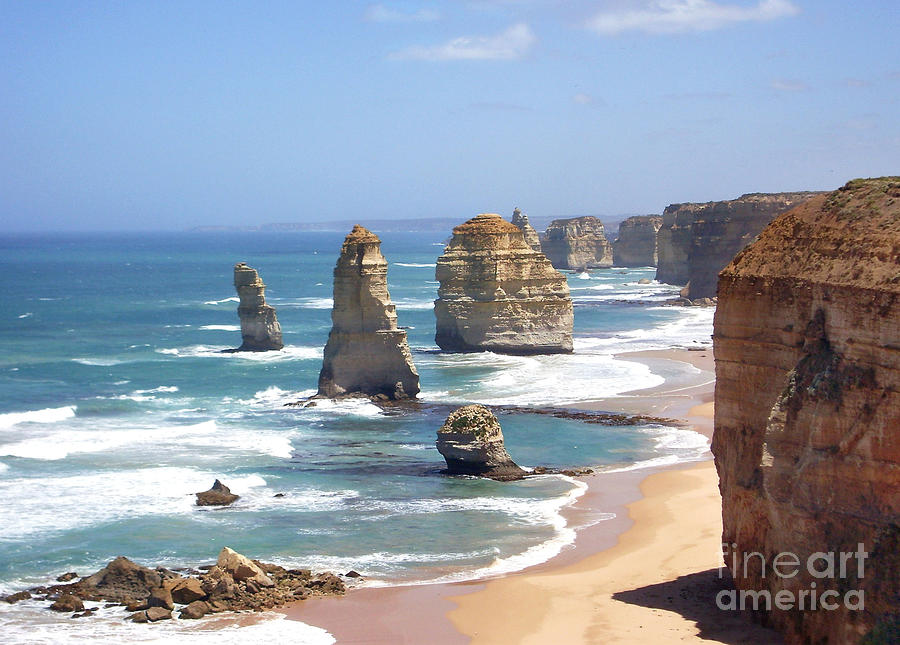 The Twelve Apostles Photograph  - The Twelve Apostles Fine Art Print