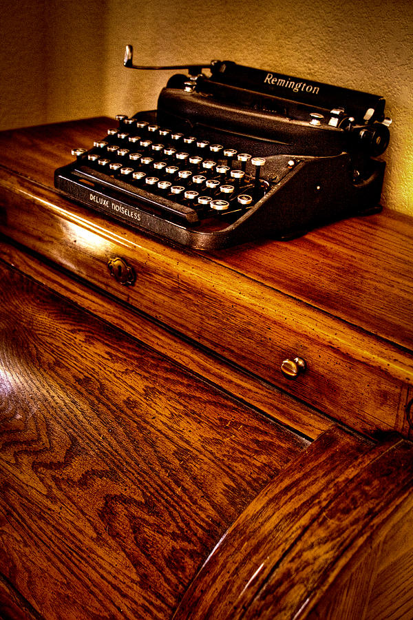 The Typewriter Photograph  - The Typewriter Fine Art Print