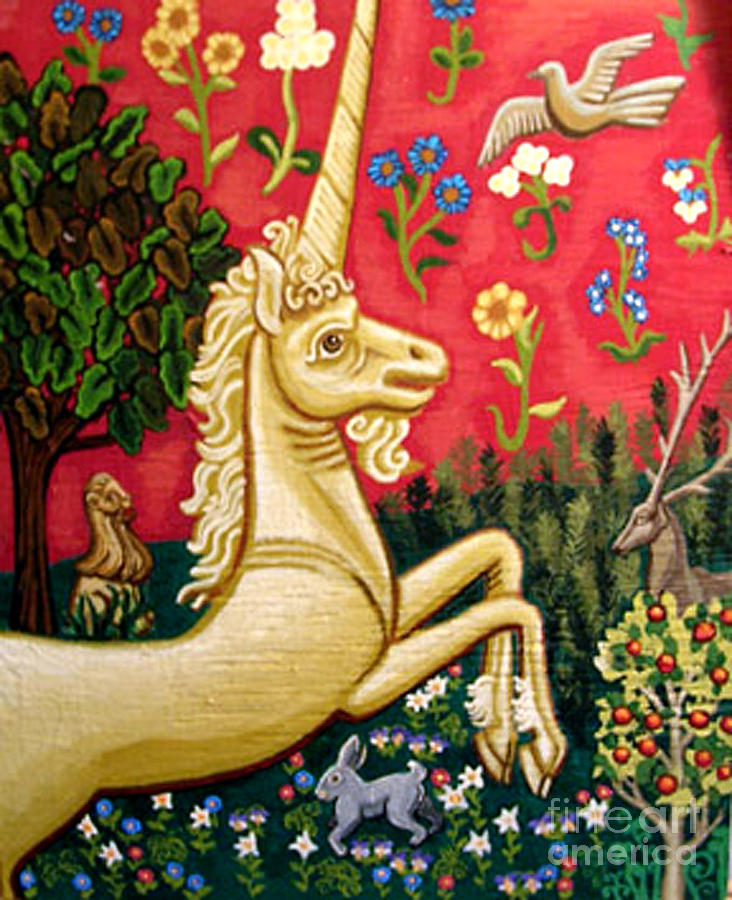 The Unicorn Painting