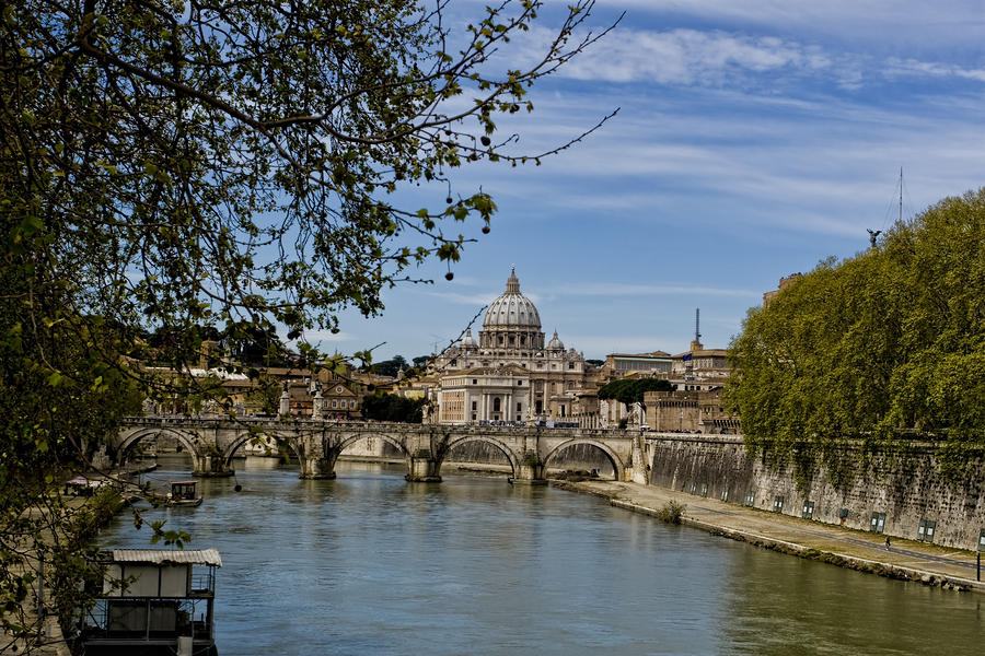 The Vatican By Day Photograph  - The Vatican By Day Fine Art Print