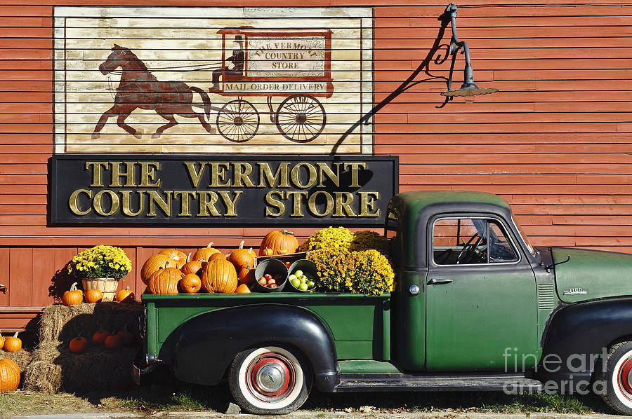 The Vermont Country Store Photograph  - The Vermont Country Store Fine Art Print