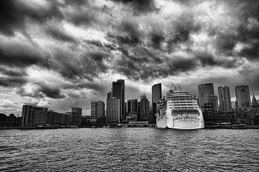 The View To Circular Quay Photograph  - The View To Circular Quay Fine Art Print