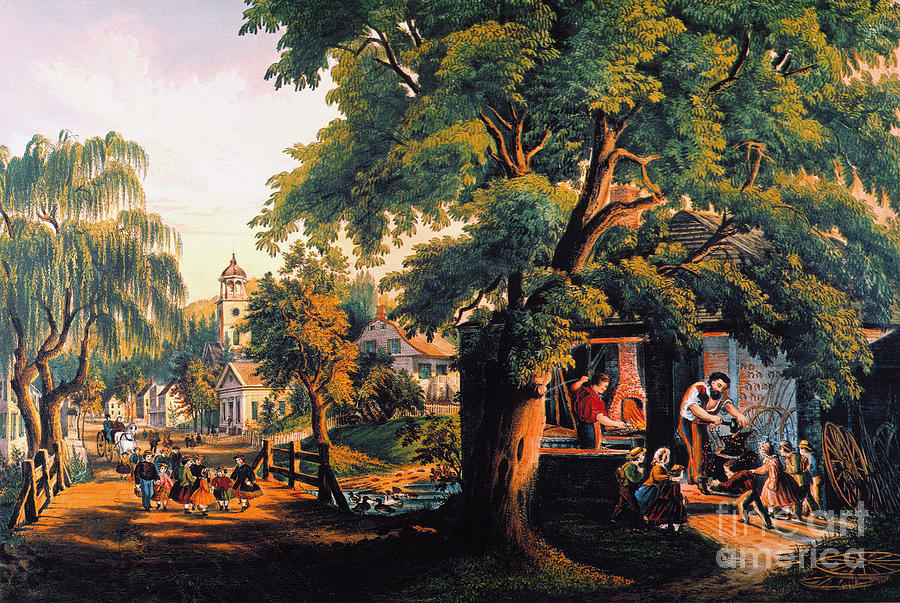 The Village Blacksmith Photograph