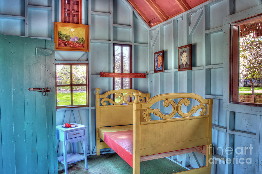 vincent Van Gogh Photograph - The Vincent Van Gogh Small House by Tamyra Ayles