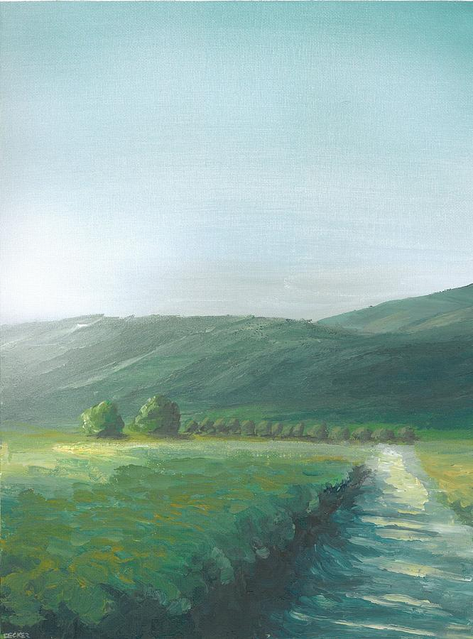 The Vineyard Painting