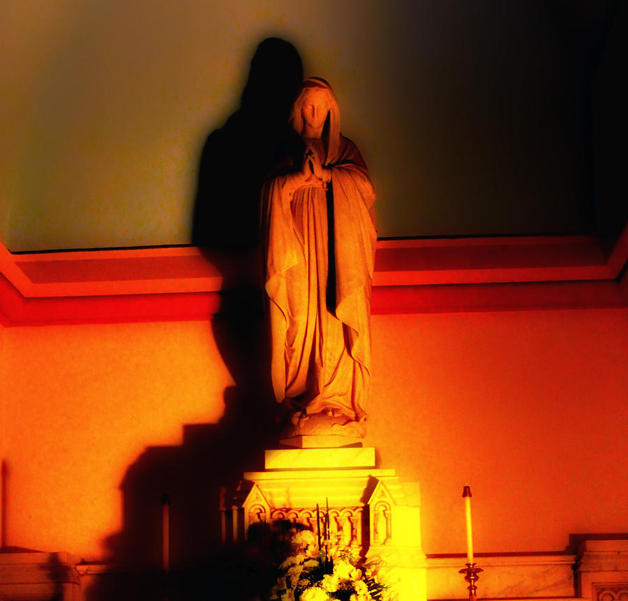 The Virgin Mary Photograph  - The Virgin Mary Fine Art Print