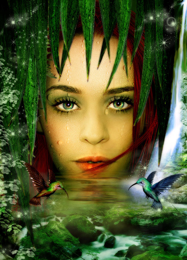The Water Bearer Digital Art