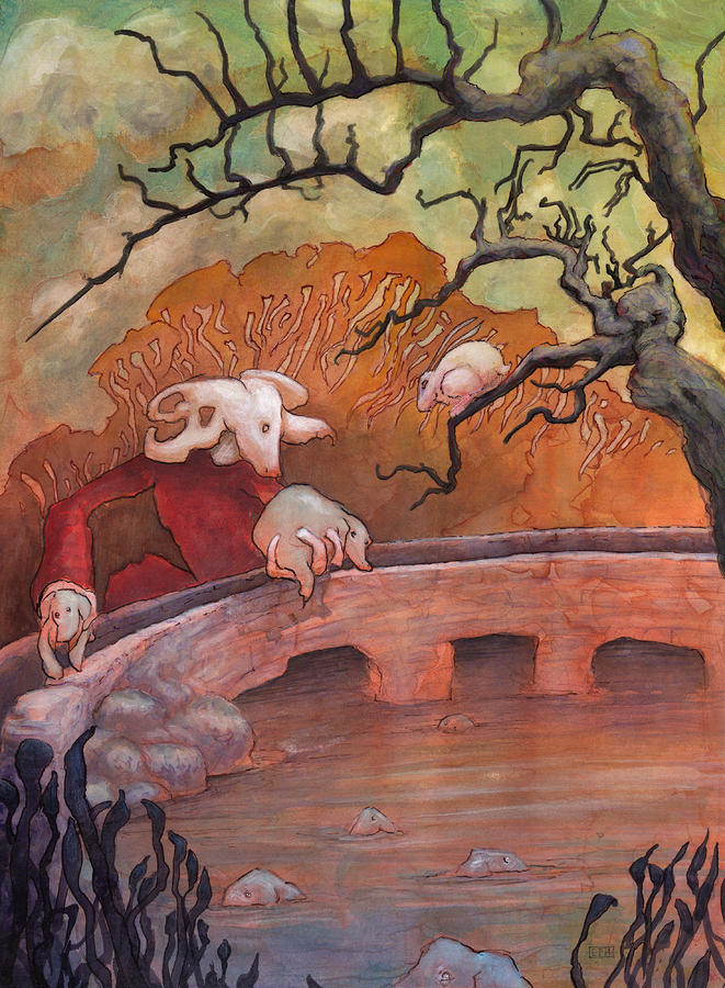 The Water Shepherd Painting
