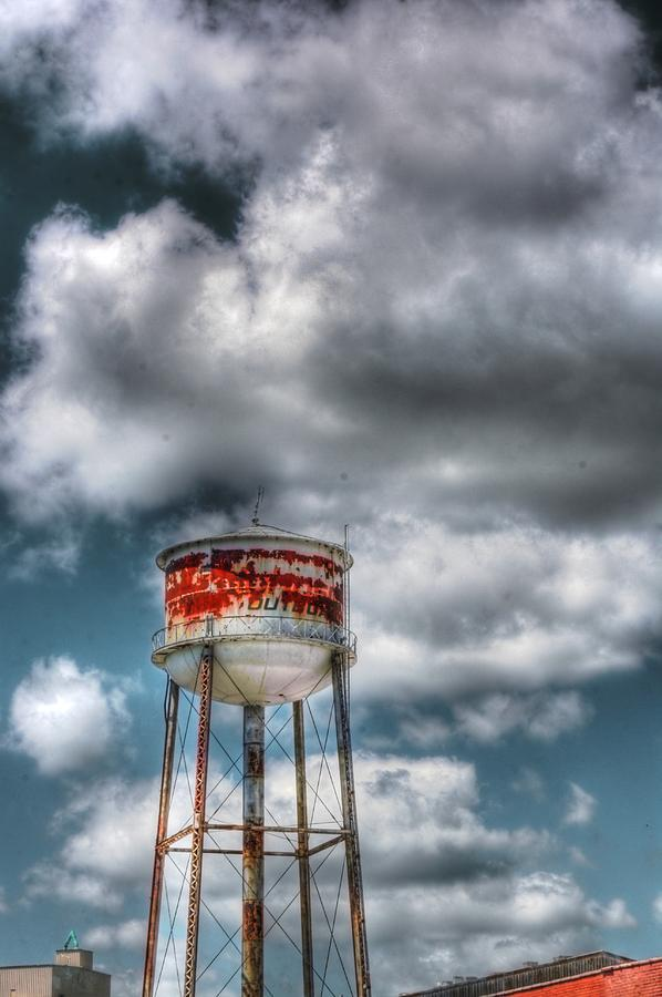 The Water Tower Photograph  - The Water Tower Fine Art Print