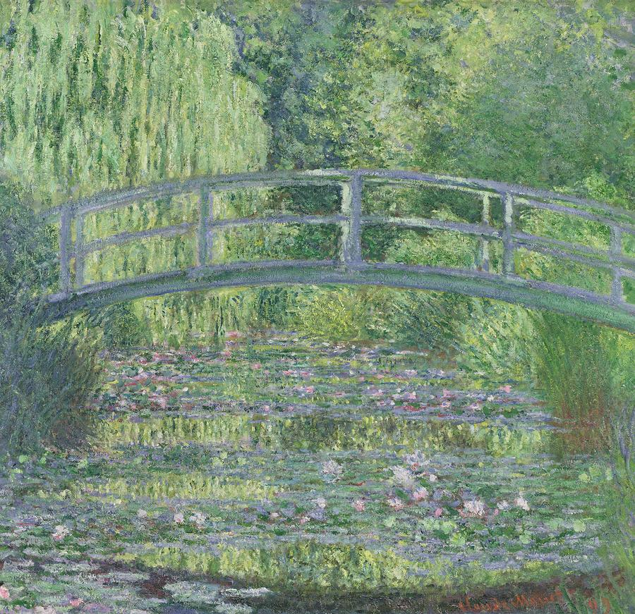 The Waterlily Pond Painting