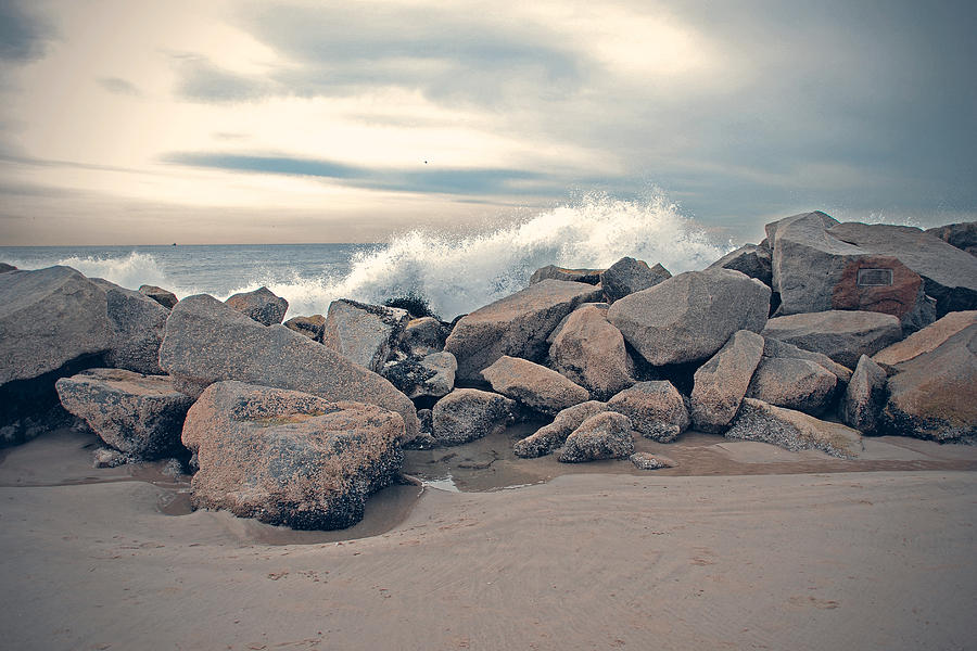 The Wave Photograph  - The Wave Fine Art Print